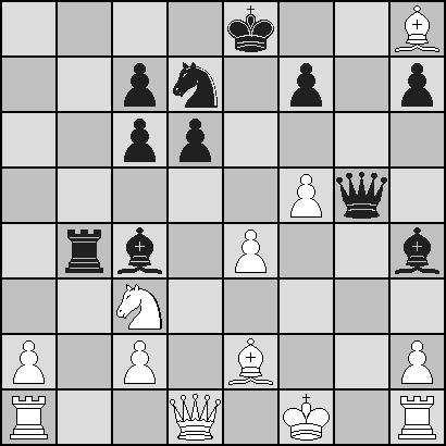 Position après le 17ème coup noir