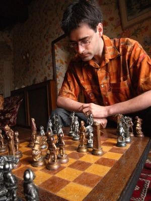 Le jeu d'échecs Don Quichotte