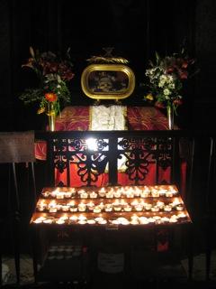 Les reliques de St-Valentin