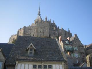Le Mont St-Michel sous le soleil
